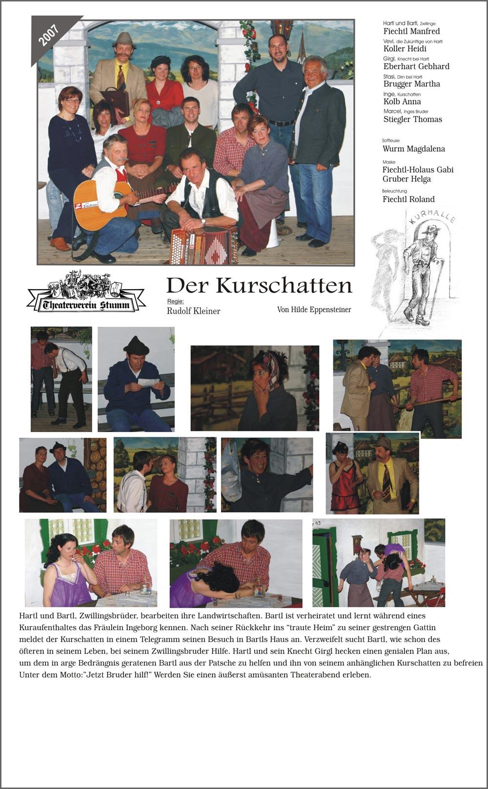 2007 Der Kurschatten