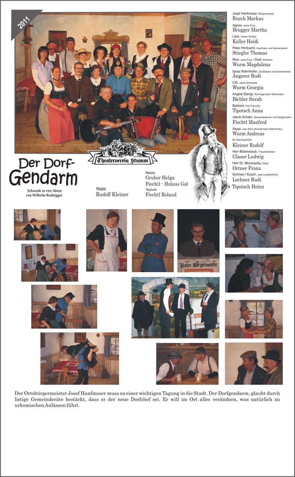 2011 Der Dorfgendarm